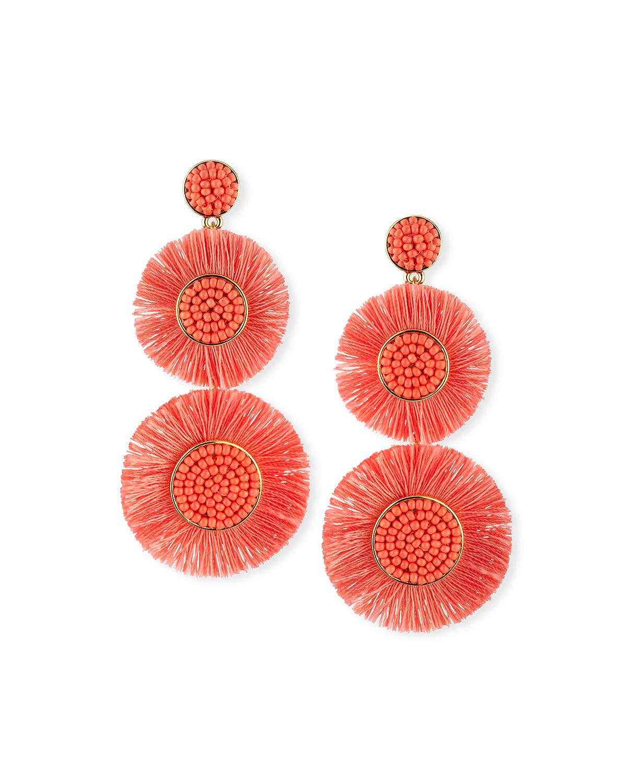 Baublebar Mariette Fringe Drop Earrings Neiman Marcus