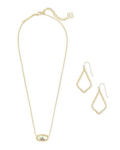 Sophia Earrings & Elisa Necklace Gift Set