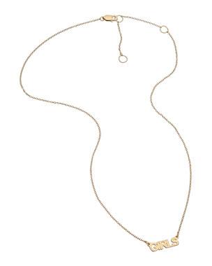 6f4ebc6c8 Jennifer Zeuner Mercer Personalized Nameplate Pendant Necklace