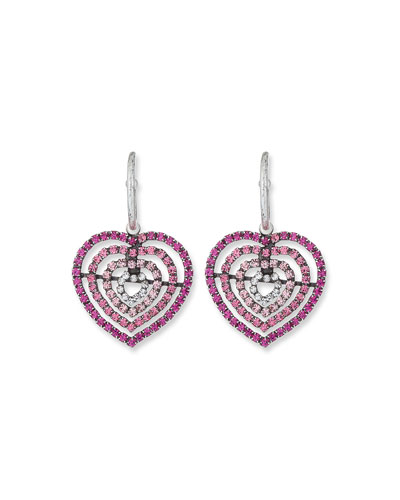 Constance Heart Earrings