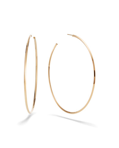 80mm Thin Pointed Royale Hoops