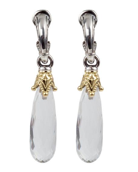 Konstantino Pythia Narrow Dangle Earrings