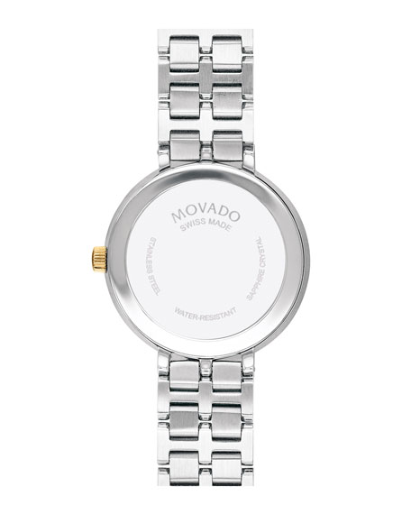 Movado Kora Mother-of-Pearl Bracelet Watch, Two-Tone
