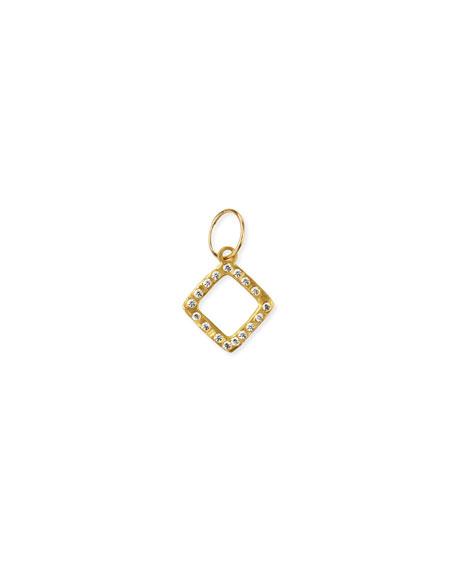 Lee Brevard 18k Diamond-Compass Earring w/ Cubic Zirconia, Single