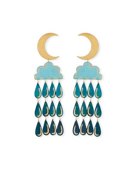 We Dream in Colour Night Shower Dangle Earrings