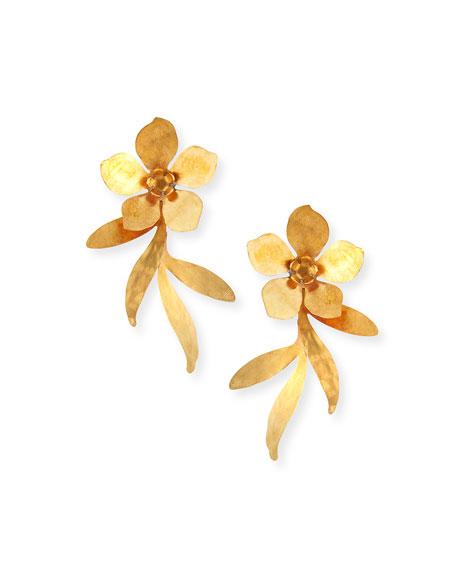 We Dream in Colour Millias Flower Earrings