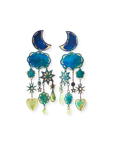 Gilded Yasmine Dangle Earrings