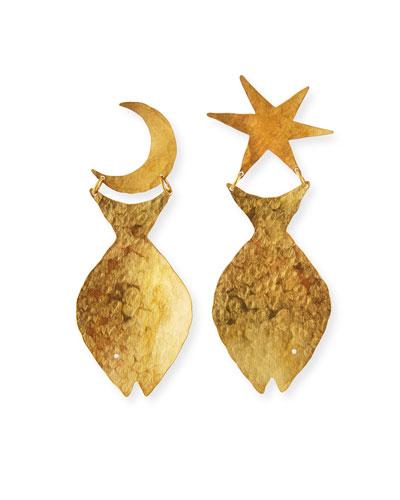 Marisol Mismatch Fish Earrings