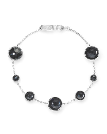 Ippolita Lollipop 7-Station Bracelet in Eclipse