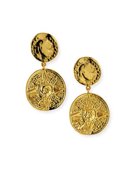 NEST Jewelry Coin-Drop Earrings