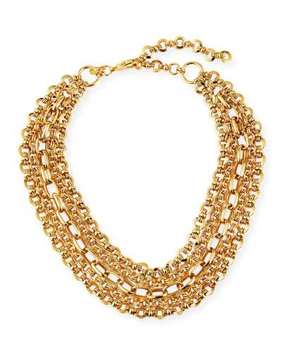 5-Chain Necklace