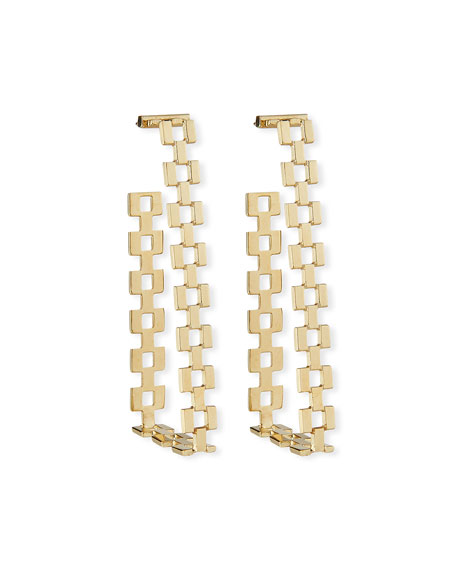 Jennifer Zeuner Gianni Hoop Earrings