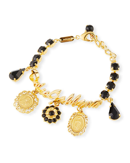 Dolce & Gabbana Crazy for Sicily Charm Bracelet