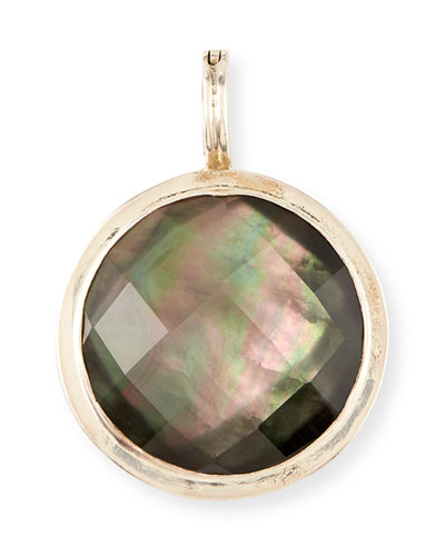 Round Mother-of-Pearl Doubler Pendant
