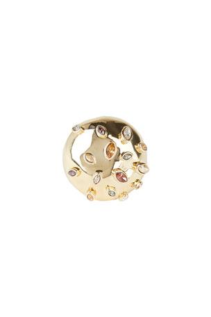 Alexis Bittar Sputnik Cocktail Ring, Size 6