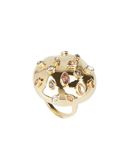 Image 2 of 3: Sputnik Cocktail Ring, Size 8