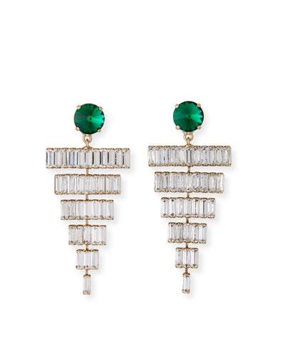 Esmeredla Drop Earrings  Emerald