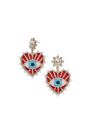 BaubleBar Ojo Drop Earrings