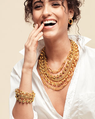 NEST Jewelry Gold Chain Layered Necklace