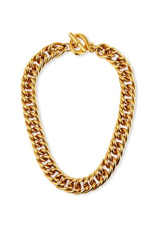 Jose & Maria Barrera Toggle Chain Necklace