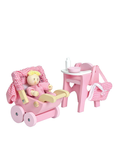NURSERY SET AND BABY