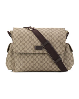Gucci Large GG Diaper Bag
