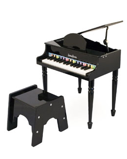 MELISSA & DOUG Tinker Play Piano, Black