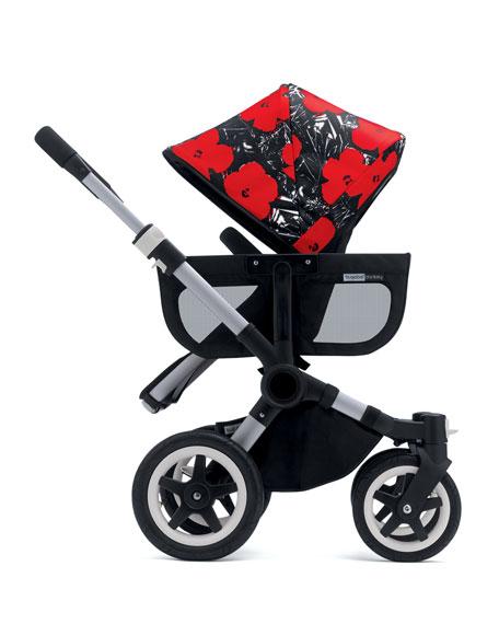 Bugaboo Andy Warhol Donkey Flowers Sun Canopy