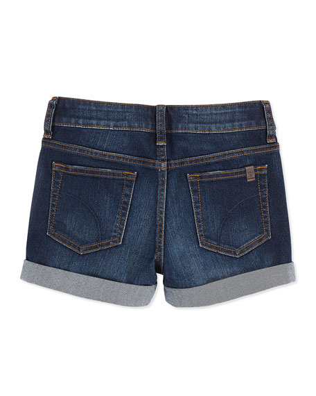 "Bridget 3"" Easy Rolled Shorts, Girls'"