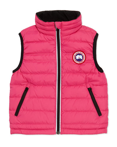 Bobcat Puffer Vest, Summit Pink, Girls' Sizes 2-7