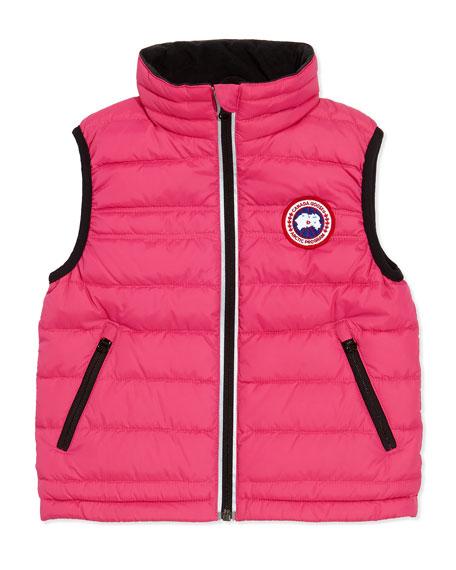 Canada Goose Bobcat Puffer Vest, Summit Pink, Girls'