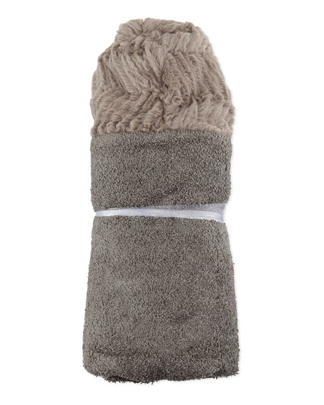 Swankie Blankie Ziggy Hooded Towel, Slate