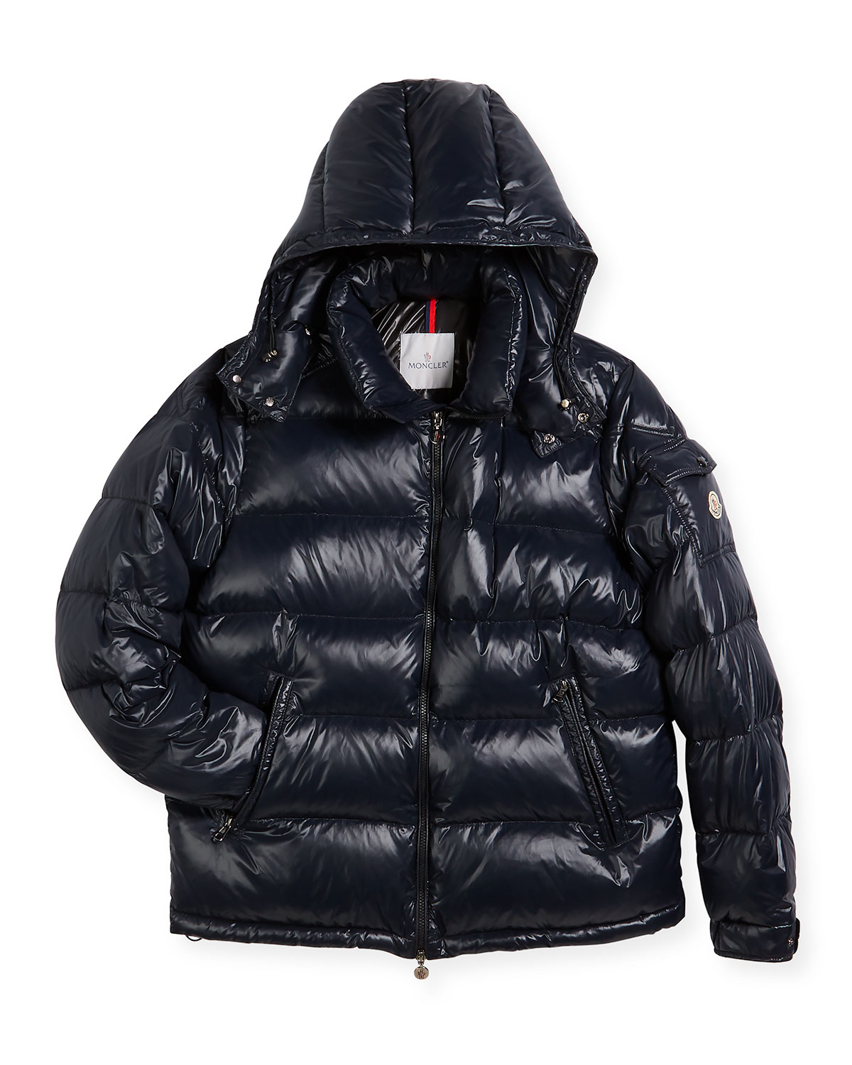 Maya Quilted Down Jacket, Size 8-14