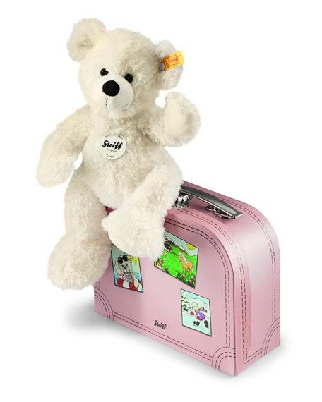 Lotte Stuffed Teddy Bear w/ Suitcase