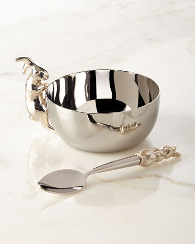 Bunny Cup with Spoon Set