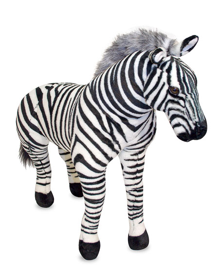 Giant Zebra Stuffed Animal