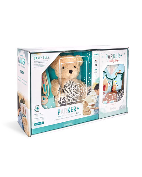 Seedling Parker Holiday Bear AR Sleep Set