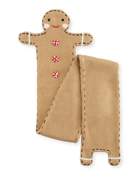Zubels Kids' Gingerman Knit Scarf