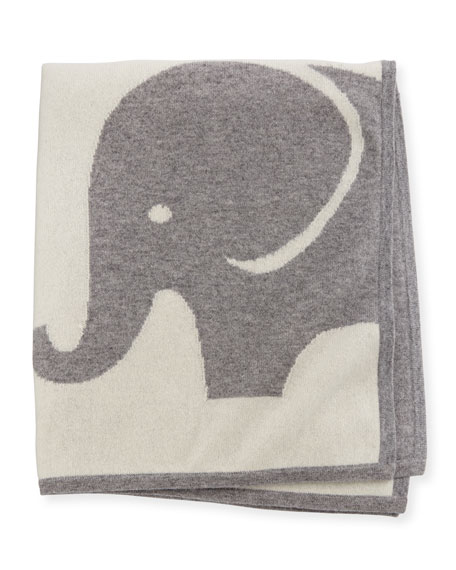 Sofia Cashmere Elephant Cashmere Baby Blanket