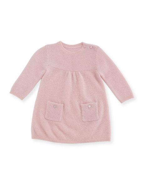 Sofia Cashmere Links Cashmere Knit Dress, Size 3-18