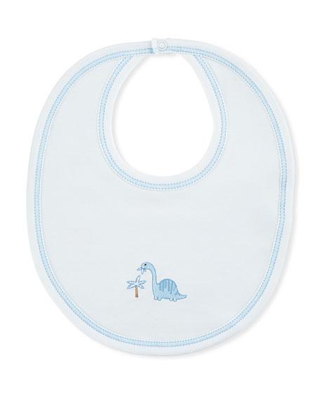 Dino Dudes Reversible Pima Baby Bib