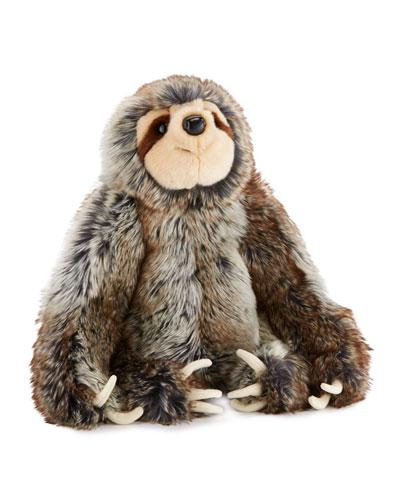 Sylvie Plush Sitting Sloth, 14