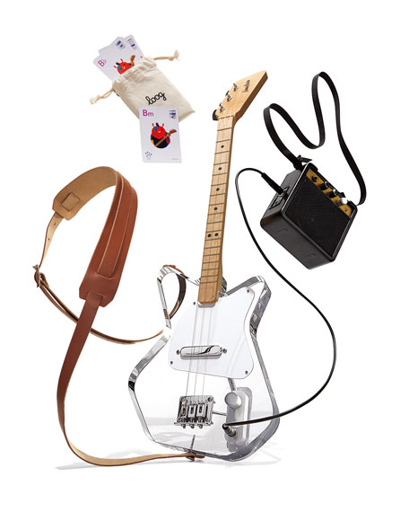 Loog Pro Acrylic Electric Guitar