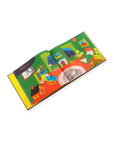 """Graphic Image Personalized """"Goodnight Moon"""" Children's Book by Margaret Wise Brown"""