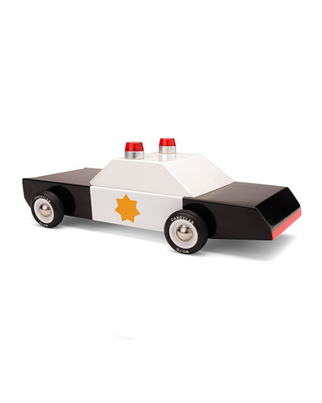 Candylab Toys Police Cruiser Toy Car