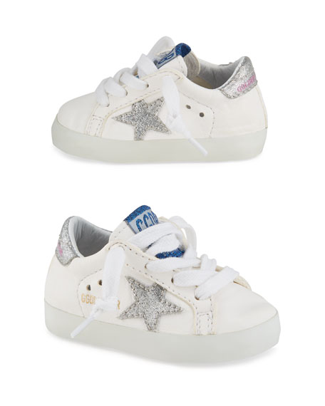 Golden Goose Old School Leather Sneakers, Toddler/Kids