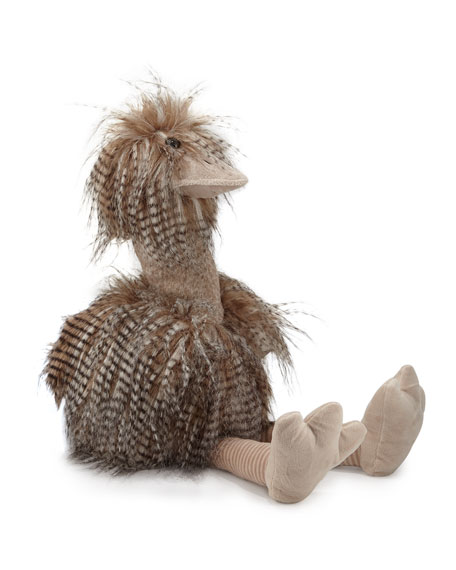Oliver The Plush Ostrich