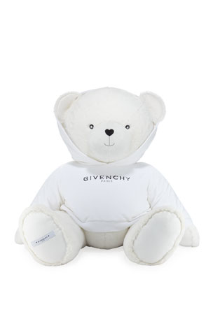 Givenchy Giant Teddy Bear in Logo Sweatshirt