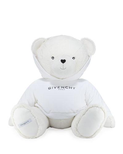 Giant Teddy Bear in Logo Sweatshirt