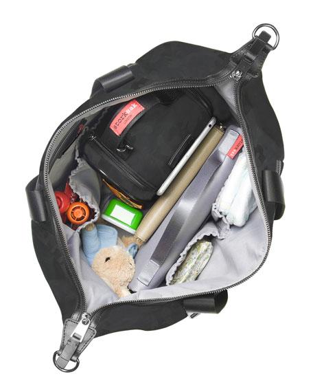 Storksak Stevie Luxe Diaper Tote Bag